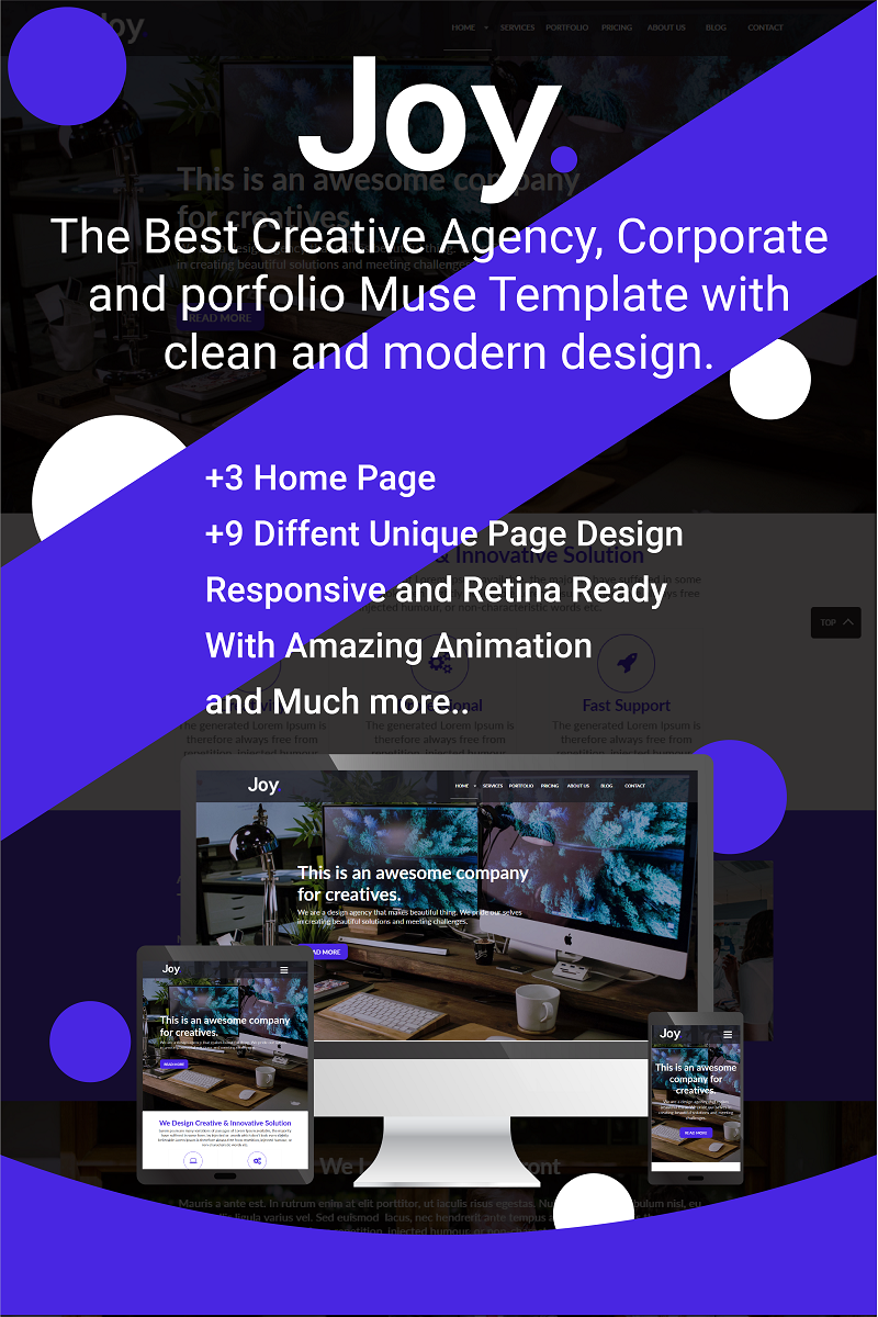 Business Muse Template | Website Templates