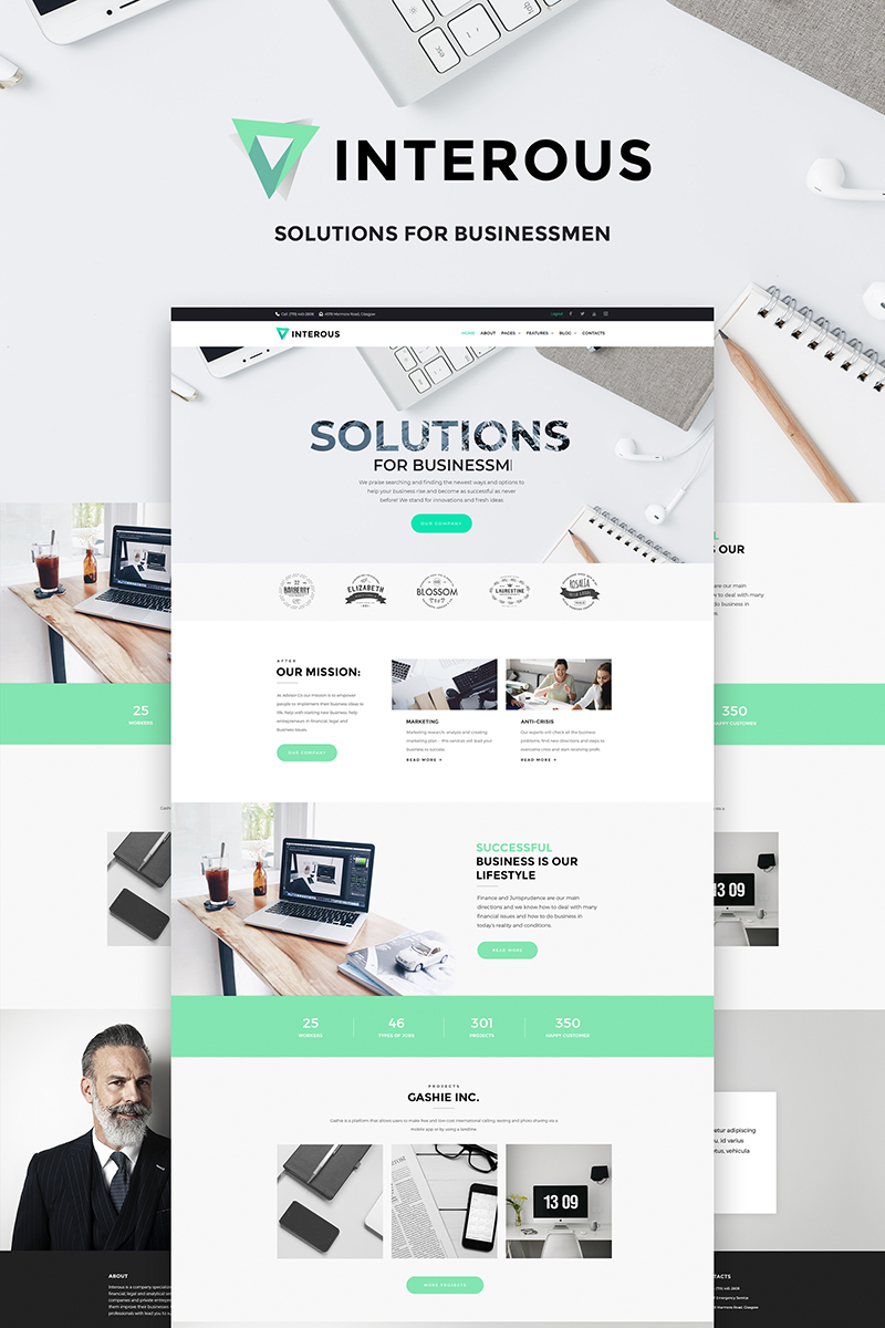 website template 66493 accounting bookkeeping consultancy custom