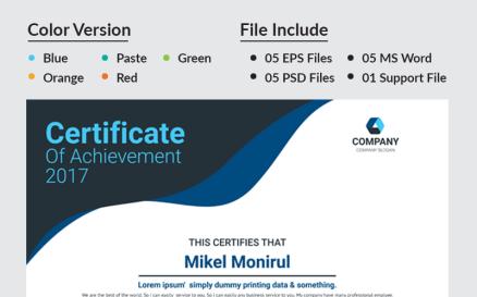 Press Certificate Template