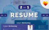 Adam McKenley - Dentist Resume Template