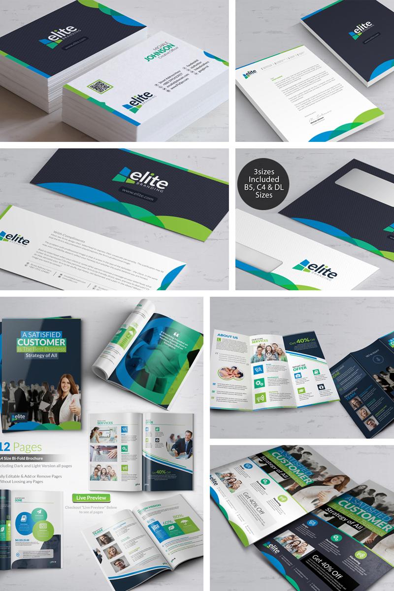 Business Branding Bundle Template de Identidade Corporativa №66478