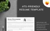 Hana Richmond - Digital Marketing Manager Resume Template