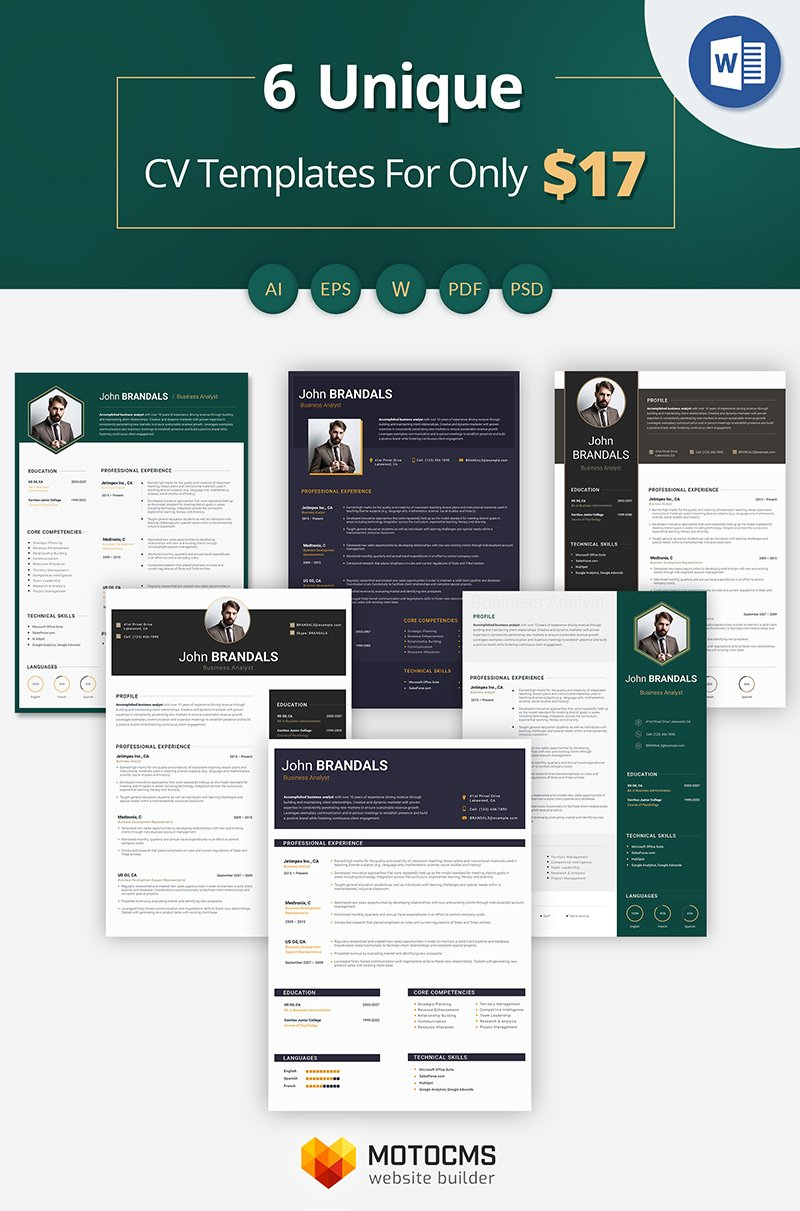 John Brandals  Business Analyst Resume Template