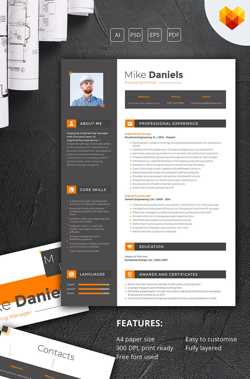 Mike Daniels  Engineering Manager