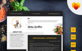 Mike Griffin - Executive Chef Resume Template
