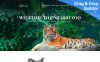 Plantilla Moto CMS 3  para Sitio de Zoos New Screenshots BIG