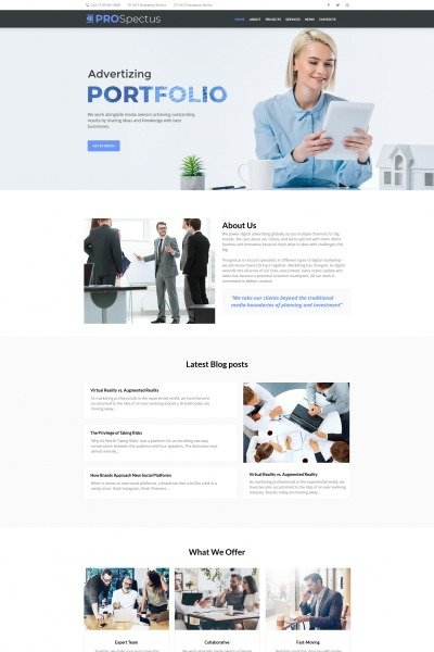 Plantilla Moto CMS HTML #66429 para Sitio de  para Sitio de Consultoría