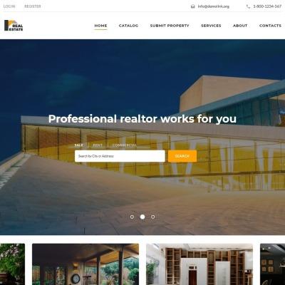 82 best real estate website templates