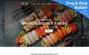 "Responzivní Moto CMS 3 šablona ""Japanese & Sushi Restaurant"" New Screenshots BIG"