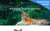 Reszponzív Wild Life - Zoo Premium Moto CMS 3 sablon New Screenshots BIG