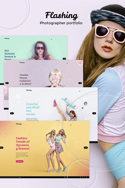 Stock Photo Responsive Tema WordPress