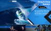 TV Channel Premium Moto CMS 3 Template New Screenshots BIG