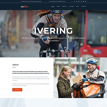Preview image of Ivering - Bike Courier & Package Delivery