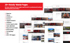 Responsive Transportation and Logistics Company Moto Cms 3 Şablon Büyük Ekran Görüntüsü