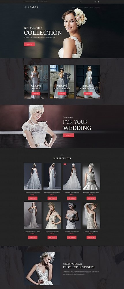 Azalea - Wedding Shop