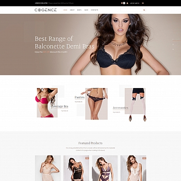 Preview image of Cogence - Lingerie Store