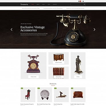 Preview image of Treasuria - Antique Shop