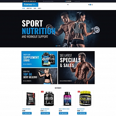 Preview image of Certionix - Nutrition Store