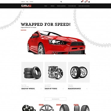 Preview image of Carlis - Wheels & Tires Store
