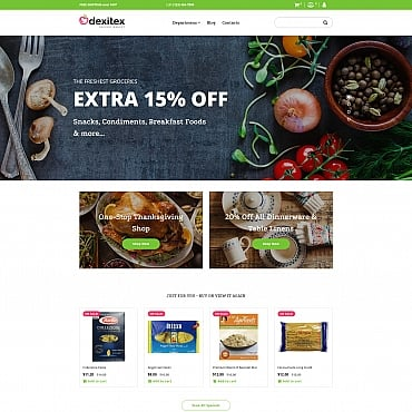 Preview image of Dexitex - Grocery Store