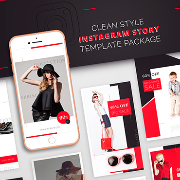 Instagram Story Template Package For Fashion Business