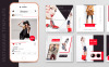 10 Fashion Instagram Template PSD Designs Social Media Big Screenshot
