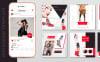 "Шаблон для соцсетей ""10 Fashion Instagram Template PSD Designs"" Большой скриншот"