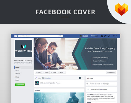 Consulting FB Timeline Cover Photo Social Media