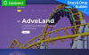 Adveland - Amusement Park Moto CMS 3 Template New Screenshots BIG