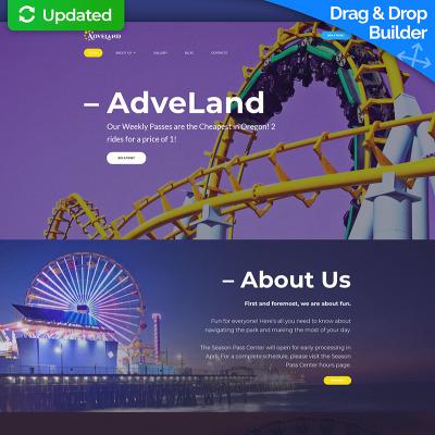 Amusement park templates templatemonster toneelgroepblik Images