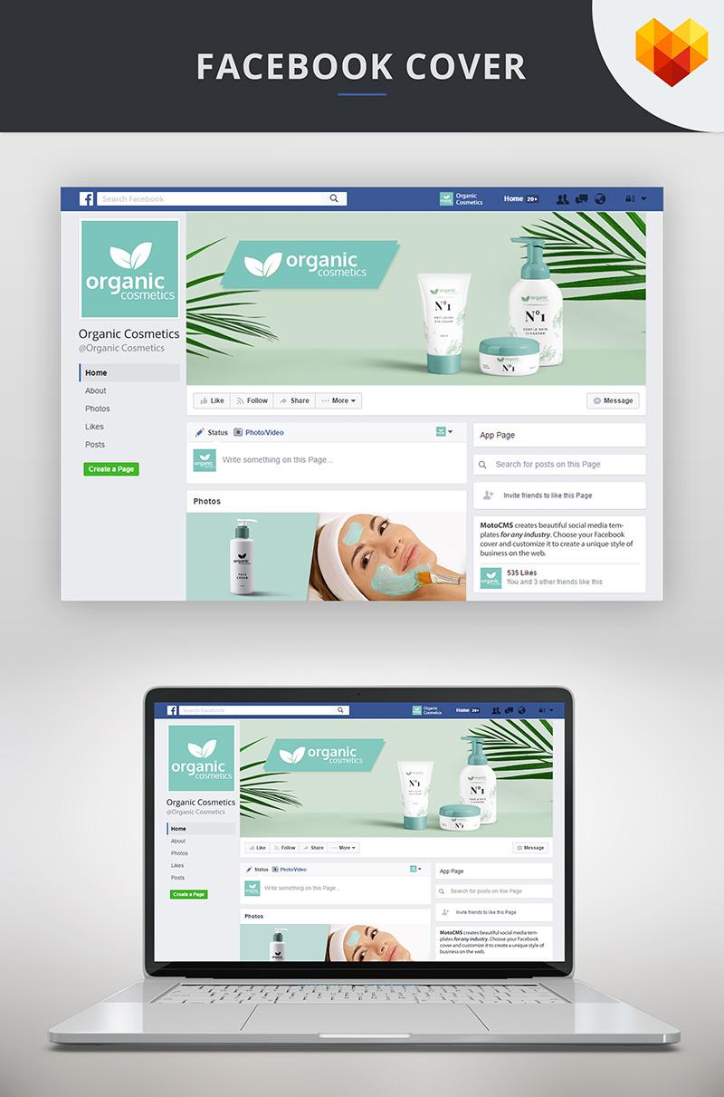 Cosmetics Facebook Cover Template Social Media 66592
