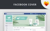Cosmetics Facebook Cover Template Social Media