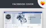 Creative Lab Facebook Cover Template Social Media