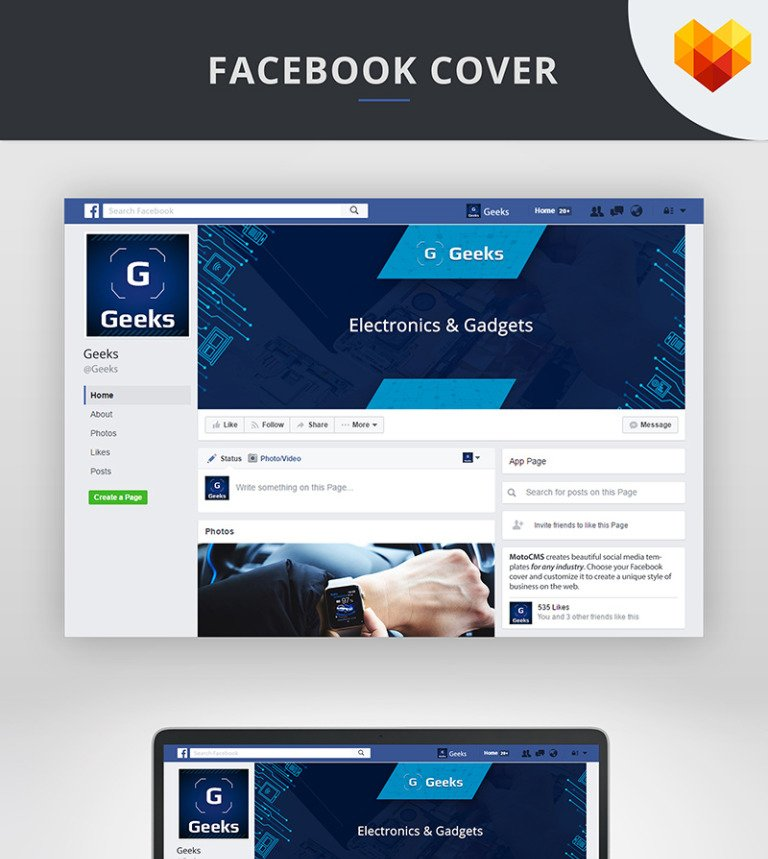 Electronics Cover Photo For Facebook Timeline Social Media 66591