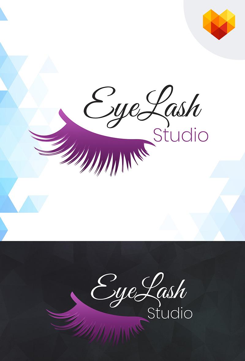 Eyelash Studio Logo Template