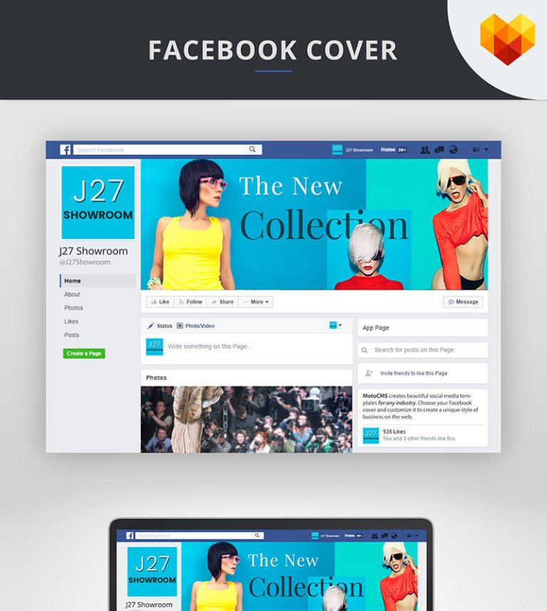fashion store facebook cover psd social media 66597