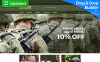 HardKit - US Army Military Store MotoCMS Ecommerce Template New Screenshots BIG