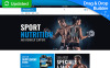 "MotoCMS E-Commerce Vorlage namens ""Certionix - Nutrition Store"" New Screenshots BIG"
