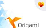 Origami Logo Template
