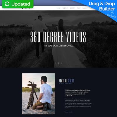 VideoReel - Videographer Moto CMS 3 Template #68158