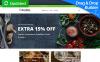 Plantilla MotoCMS para comercio electrónico para Sitio de Tienda de Comestibles New Screenshots BIG