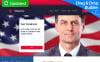 "Responzivní Moto CMS 3 šablona ""Minister - Political Candidate"" New Screenshots BIG"