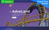 Reszponzív Adveland - Amusement Park Moto CMS 3 sablon New Screenshots BIG