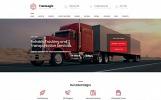 Reszponzív Transportation and Logistics Company Moto CMS 3 sablon