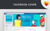 "Tema Social Media #66597 ""Fashion Store Facebook Cover PSD"""
