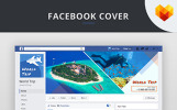 Travel Agency Facebook Cover Picture Social Media