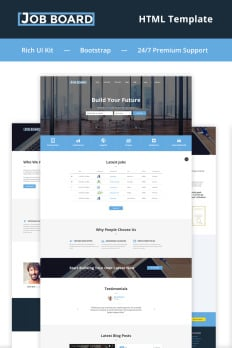 template bootstrap
