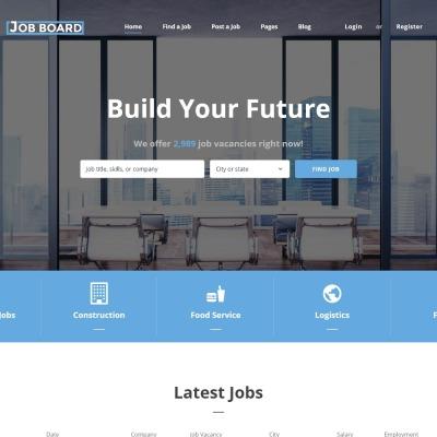 Job Portal Responsive Šablona Webových Stránek