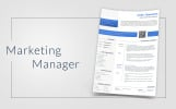 Colin Thompson - Digital Marketing Manager Resume Template