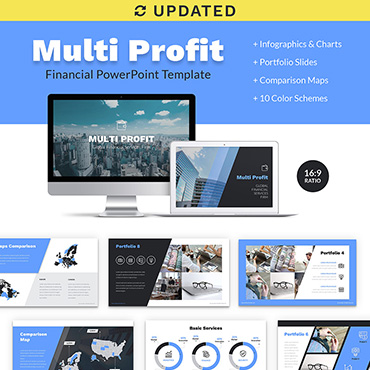 Preview image of Multi Profit Financial Company Presentation PPT